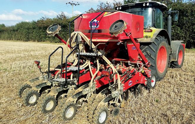 Strip-Till Conversion Mellows Tough U.K. Soils
