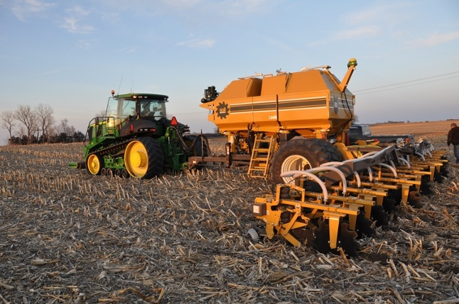 Precision tips for keeping strip tillers on the zone for Soil warrior