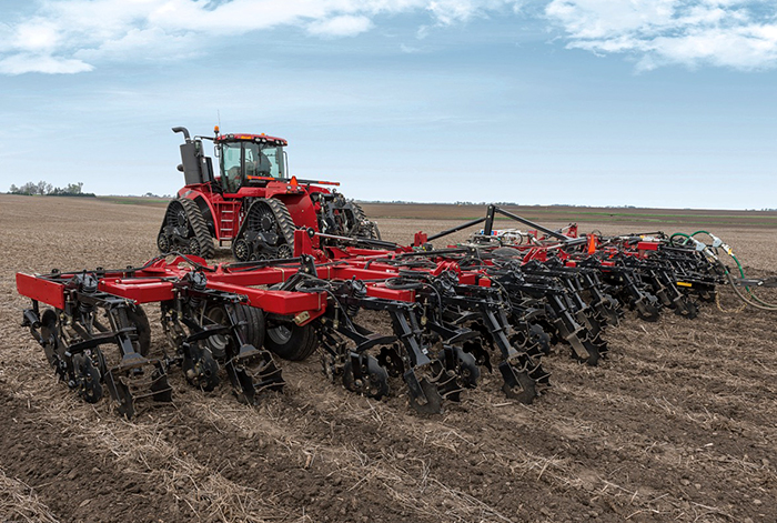 Case Ih Introduces Nutri Tiller 955 Strip Till Applicator Strip