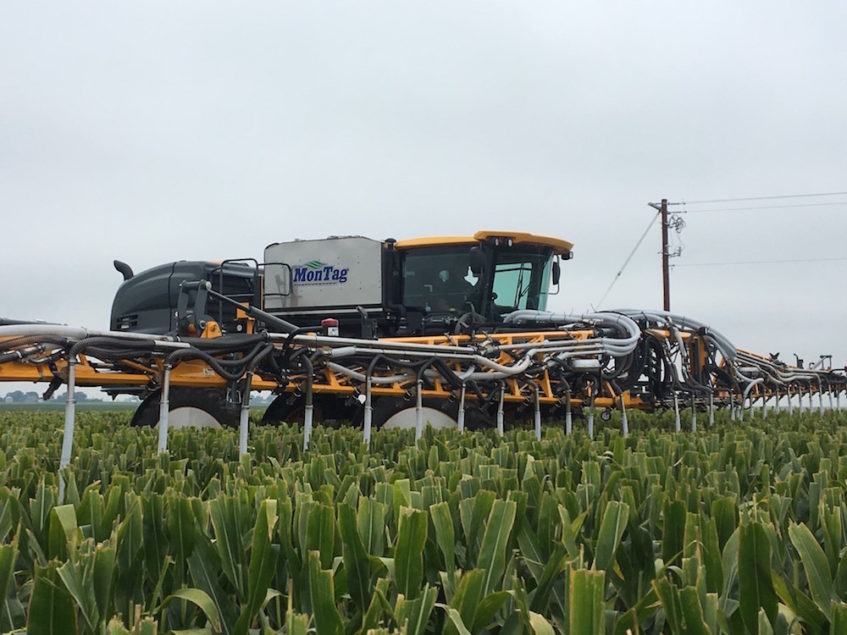 Montag Manufacturing Enters Cover Crop Application Business