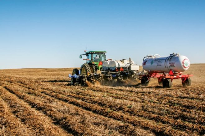 Cutting Fertilizer Application Costs with a Precision Strip-Till System