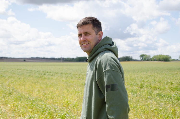 Ryan Nell in cereal rye
