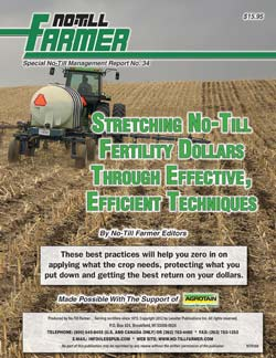 Stretching No-Till Fertility Dollars Through Effective, Efficient Techniques