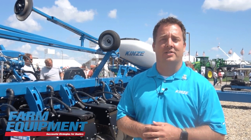 Kinze Showcases Prototype Split Row Planter
