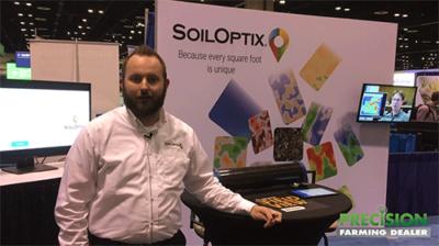 SoilOptix Soil Analysis System provides Ag Service Providers High Res Soil Nutrient Maps