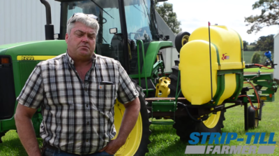 Moving Nitrogen Tanks to the Tractor to Improve Cover Crop Application Flexibility