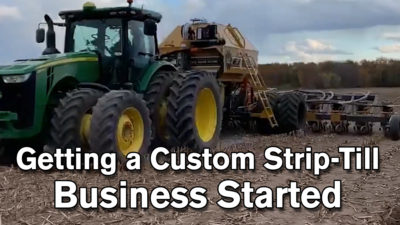 Getting a Custom Strip-Till Business Started