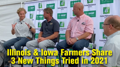 Illinois & Iowa Farmers Share 3 New Things Tried in 2021