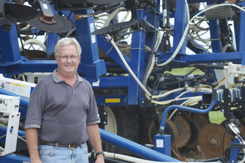 RENT CONTROL. Since starting with strip-till nearly 25 years ago, J.T. Hayes, of Emden, Ill., has taken an economical approach to the practice, renting strip-till rigs and other farm equipment, when it's needed.